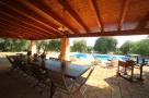 Dining verandah at Villa Laura