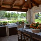 Trulli Annina summer kitchen