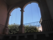 The loggia from inside