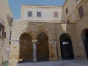 The museum portico