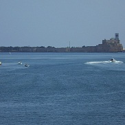 The sea fortress Brindisi