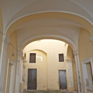 Palazzo internal courtyard